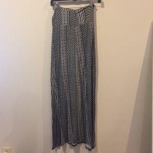 Long American Rag skirt
